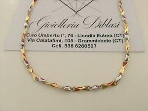 Kette Anhänger Zirkonia weiß 750 Gold 18 Karat vergoldet Damen A3048L