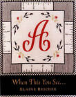 When This You See... by David Frankel, Elaine Reichek (Hardback, 1999)