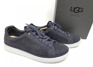 db60b2a7813 Details about UGG Australia Cali Sneaker Low Perf Leather Top Fashion Men's  True Navy 1095469