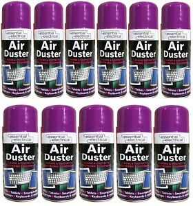 3-X-400-ML-COMPRESSED-AIR-PRESSURE-DUSTER-SPRAY-CAN-CLEANS-PROTECTS-KEYBOARDS