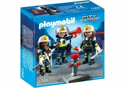 PLAYMOBIL #5366 CITY ACTION FIRE RESCUE CREW RETIRED NEW IN BOX