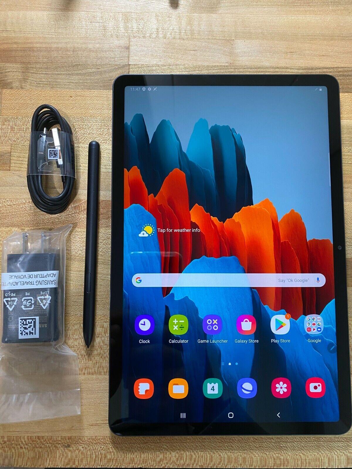 Samsung Galaxy Tab S7 256GB, Wi-Fi, 11 in - Mystic Black FEDEX 2 DAY NEW*. Buy it now for 579.00
