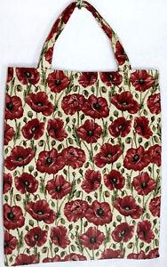 Mohnblumen Blumen Einkaufsbeutel Tasche Gobelin  Einkaufstasche Tapestry Bag