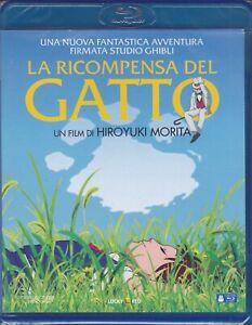 Blu-Ray-The-Reward-Del-Cat-Studio-Ghibli-Miyazaki-New-2002