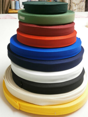 2 METRES 25mm WIDE WEBBING POLYESTER APRON TAPE