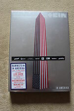 Rammstein In Amerika (DVD) NEW & SEALED Polish Stickers