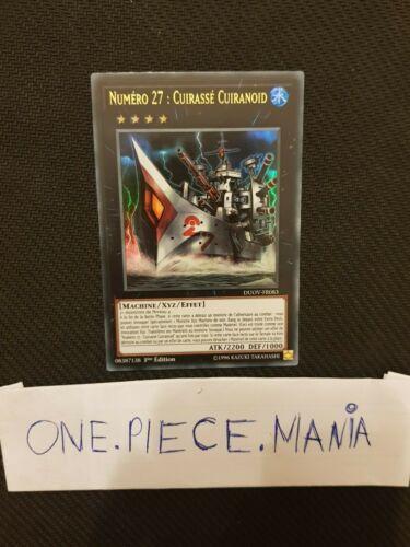 Cuirassé Cuiranoid DUOV-FR083 1st Yu-Gi-Oh Numéro 27