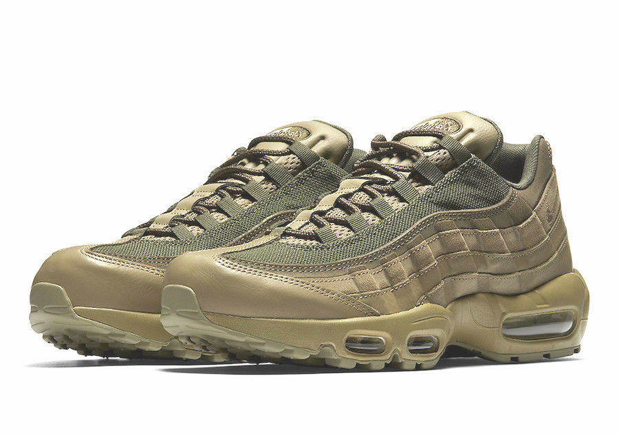 Nike Air Max 95 PRM OLIVE GREEN COUNTRY CAMO USA 1 PATCH 90 538416-201 sz 14