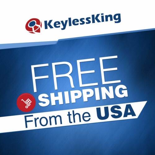 2 Remote Start Key Fob Shell Pad Case 5b for 2009-2016 Chevy Traverse