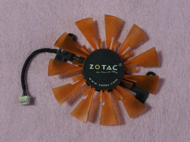 87mm ZOTAC GTX 760 950 Sapphire R7 260X 360 RX460 Single Fan GA91S2H 0.35A R212