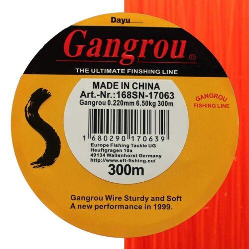 mono Line monofilamento angel cuerda Gangrou naranja 0,204mm 5,65kg 300m