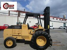 Mastercraft A716 6000 Lb Rough Terrain Forklift Boom Truck Diesel
