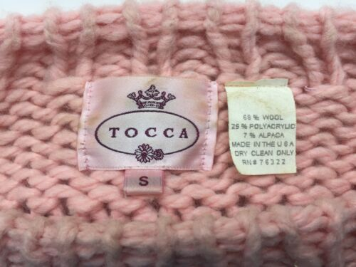 Wool Tocca Pink Size S Knitted Pale Jumper rZZgqEw
