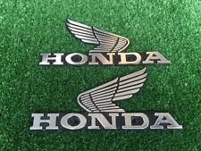 # Honda CG125 CL100 CB200 CB100 CB125S Tank Emblem LR NEW