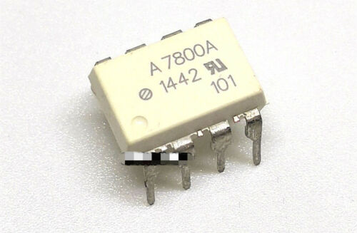 10PC HCPL-7800A A7800A OPAMP ISOLATION 100KHZ 8DIP IC