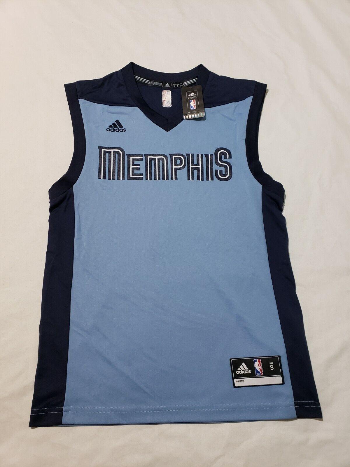 adidas NBA Authentics Memphis Grizzlies Basketball Jersey Mens Sz ...