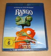 Blu Ray - Rango - Animation - Gore Verbinski - Komödie - Neu OVP