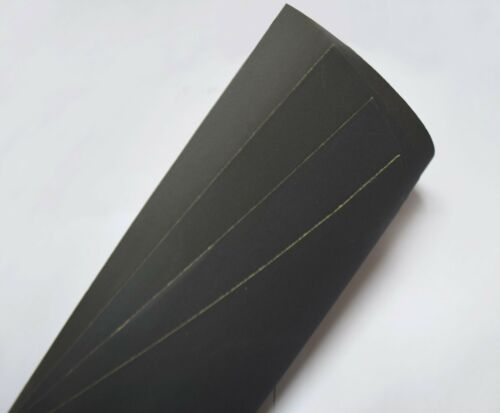 """Sandpaper 800 Grit 9/"""" x 11/"""" Wet Dry Abrasive Paper Waterproof Silicon Carbide"""