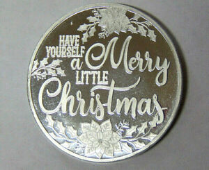 Have-Yourself-a-Merry-Little-Christmas-1-oz-999-Fine-Silver-Round-22720