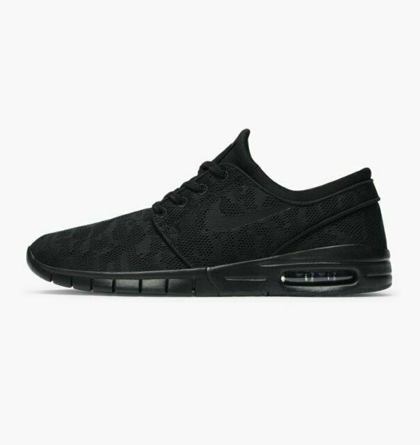 Size 6 - Nike SB Stefan Janoski Max Triple Black - 631303-099 for ...