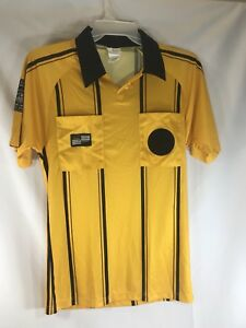 Image is loading Official-Sports-International-Soccer-Referee-Jersey-Shirt- Yellow- 8eaf4d680