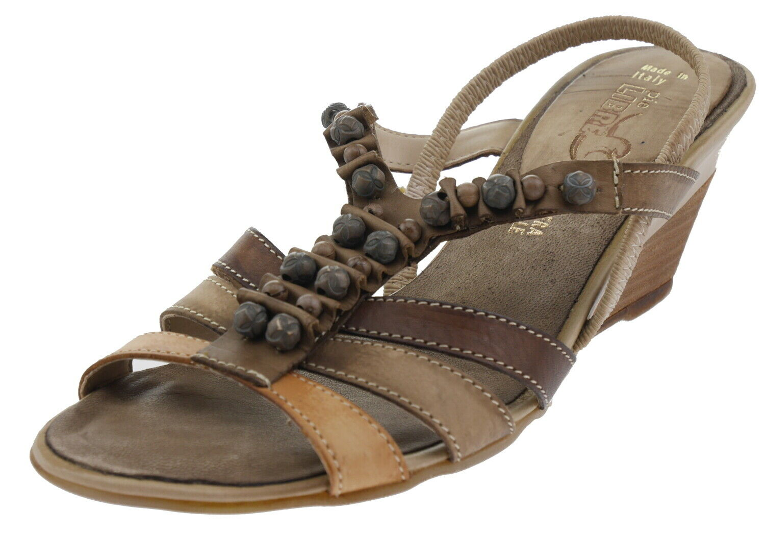 Pie Libre 79533pm Leather Sandals Brown 187755