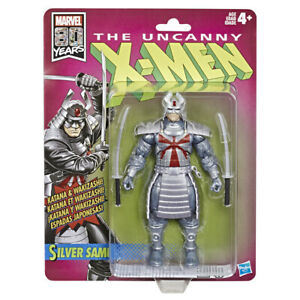 Marvel-Legends-6-034-X-Men-Retro-Wave-1-Silver-Samurai-IN-STOCK