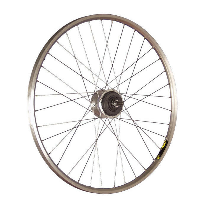 Taylor Wheels 28 pollici ruota posteriore bici A319 ALFINE 11 Vbrake 36 silver