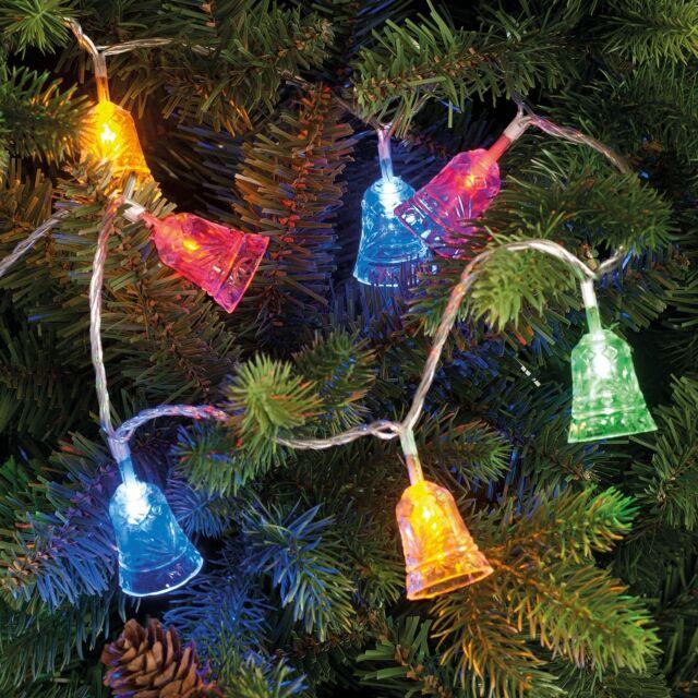 100 Led Acrylic Bell Light String