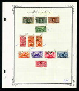 Italian-East-Africa-Stamp-Collection
