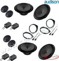 Kit 8 HP enceintes haut-parleurs AUDISON pour FIAT / ALFA ROMEO / LANCIA / OPEL