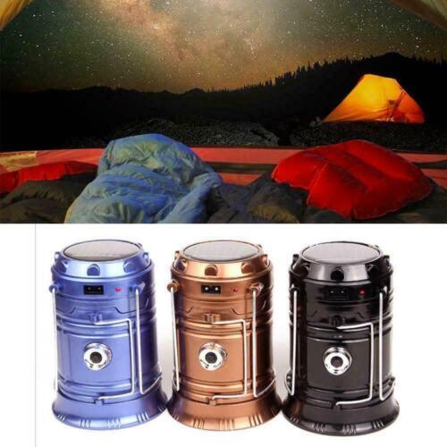 3-in-1 Camping Hiking Lantern,Portable Outdoor LED Flame Lantern Flashlight N8E2