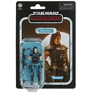 Star Wars (IN HAND) Mandalorian Cara Dune Vintage 3.75 Collection Action Figure