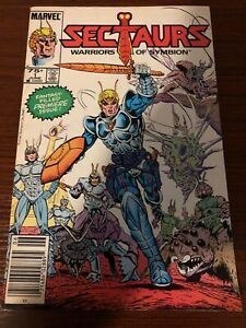 MARVEL-SECTAURS-WARRIORS-OF-SYMBION-1-1985-Combine-shipping-Read-description