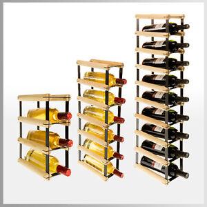 weinregal f r 1 bis 9 flaschen flaschenregal. Black Bedroom Furniture Sets. Home Design Ideas