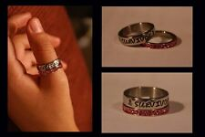 Personalized Ring mother, sister, best friend, daughter - Stainless Steel 2pc!