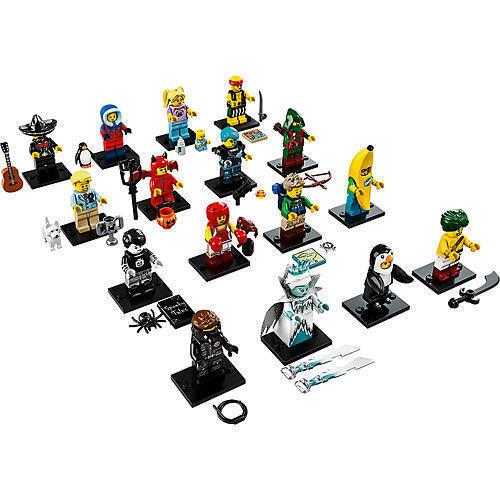 Lego Minifigures Serie 16, 8831 Komplett - Complete Series 16