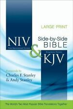 Niv And Kjv Side-By-Side Bible, Large Print: God's Unchanging Word Across The...