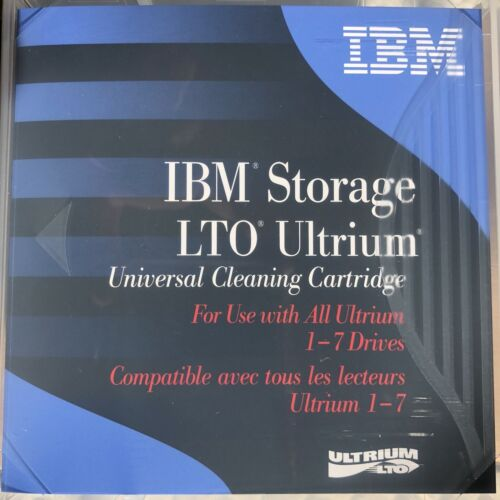 IBM 35L2086 Universal  LTO Ultrium Cleaning Cartridg 5pack NEW