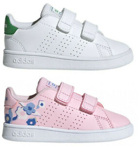 ADIDAS-ADVANTAGE-INF-scarpe-bambino-bambina-stan-sportive-smith-sneakers-pelle