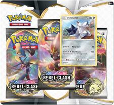 Rebel Clash Pokemon Sword & Shield 3-Pack Blister - Duraludon Promo
