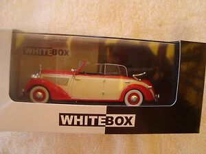 MINIATURA-MERCEDES-230-W153-CABRIOLET-WHITEBOX-1-43-NUEVA-EN-CAJA-1939
