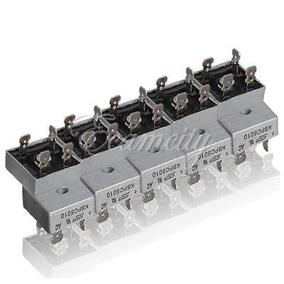 10x KBPC5010 1000 Volt Bridge Rectifier 50 Amp 50A Metal Case 1000V Diode Bridge