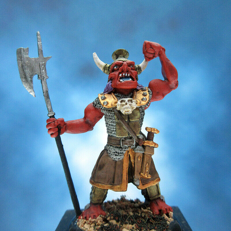 Painted  RAFM Miniatures Giant Orc General  réduction en ligne
