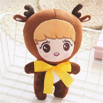 "23cm/9"" KPOP EXO XOXO Planet#2 LUHAN Big Bow Deer Cute Plush Toy Stuffed Doll"