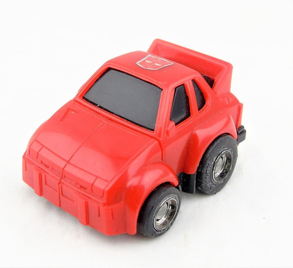 Transformers Original G1 1984 Pre Rub Circle Stamp Red Cliffjumper Complete