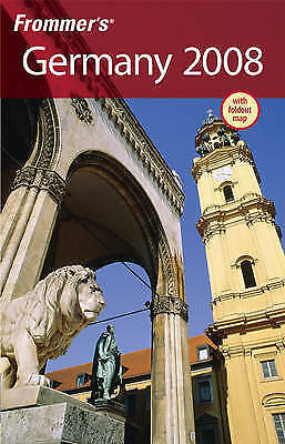 (Good)-Frommer's Germany 2008 (Frommer's Complete Guides) (Paperback)-Prince, Da