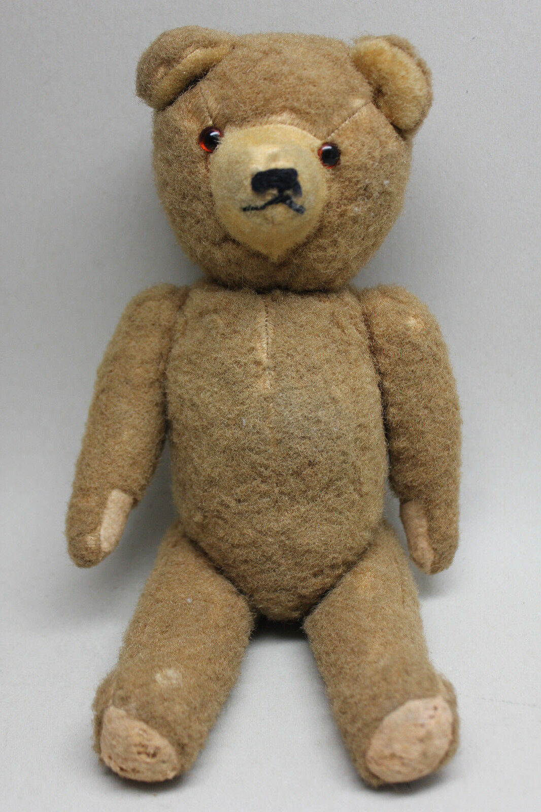 Antique Vintage Vintage Vintage 12'' TEDDY BEAR with Articulated Limbs & Head  Internal Growler 5973dc