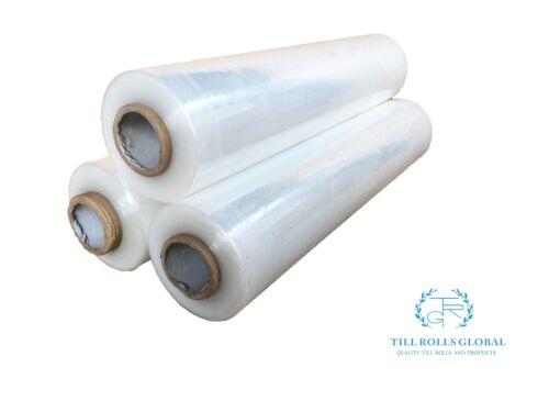 6 pallet wrap shrink wrap cling CLEAR 400mm x 250m x 17mu high quality