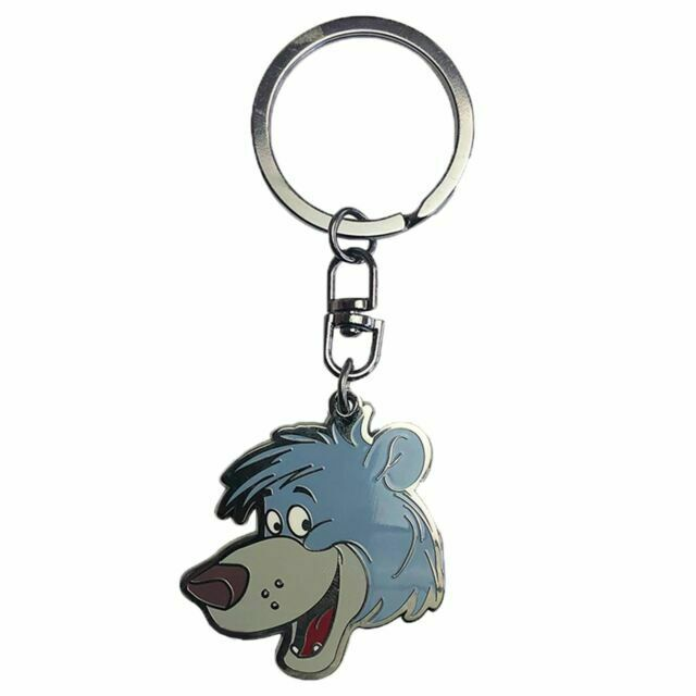 "DISNEY Keychain /""Jungle Book// Baloo/"" Metal key ring ABYKEY226"